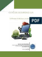 Guias de seguridad UJA - 3. Malware
