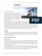 Extraction of petroleum wiki
