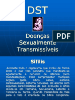 (DST) DOENÇAS SEXUALMENTE TRANSMISSÍVEIS