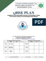 HSE PLAN PTS