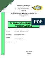 PLANTA DE CONTROL DE TEMPERATURA