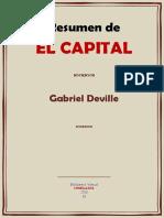 EL CAPITAL RESUMEN POR GABRIEL DEVILLE