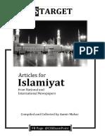 Islamiyat+Articles