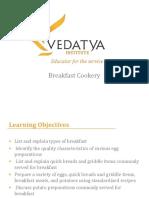 PPT breakfast cookery