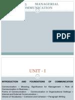 UNIT - 1 (MC)