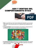 SIGNIFICADO Y SENTIDO DEL COMPORTMIENTO ETICO