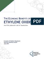 Cost of Deselecting Ethylene Oxide