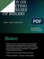A STUDY ON MARKETING STRATEGIES OF BISLERI