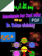 2nd Year Dental Amalgam 3