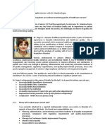 2010-01-14 - Interview Questions for Dr. Manisha Dogra-Published