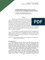 Penilaian Metode LDA