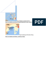 Map of Philippines including Mindanao https
