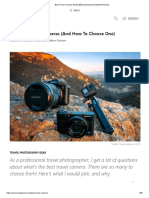 Best Travel Camera Guide 2020 (Unbiased & Detailed Review)