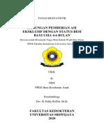 Tugas Biostatistik ASI Eksklusif