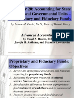 Chapter 20 Accounting for State and Local Governmental Units – Proprietary and Fiduciary Funds