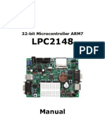 ENG 32bit Micro Controller ARM7 LPC2148 Manual