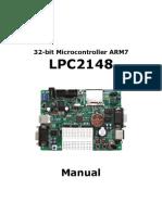 ENG 32bit Micro Controller ARM7 LPC2148 Manual