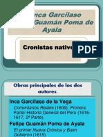 3.- LOS CRONISTAS NATIVOS
