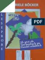Leseprobe Gabriele Böcker - Oreo reisst aus