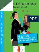 Leseprobe Karin Heynst - Julie im Herbst