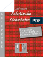 Leseprobe Sally Holm - Schottische Liebschaften