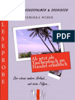 Leseprobe Rebekka Weber - Curries, Kokospalmen und Orchideen