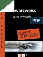 Leseprobe Leander Winkels - Schwarzweiss