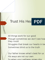 Trust His Heart