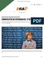 Compozitie in fotografie 17 sfaturi utile