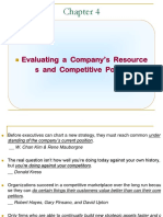 Business Strategy and Policy Evaluating Company