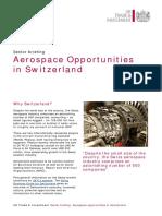 Aerospace Opportunities in Switzerland