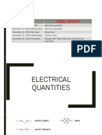 18 Electrical quantities