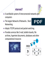 1. history of internet