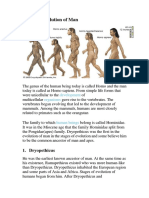 Stages of Evolution of Man.docx