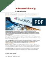 Vergleichstest Private Krankenversicherungen in Deutschland