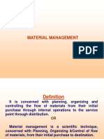 Management in materials science