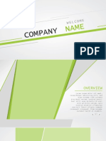 Business Angles Green Widescreen