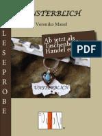 Leseprobe Veronika Mauel - Unsterblich