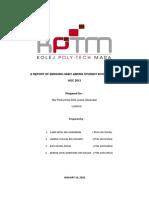A REPORT OF SMOKING HABIT AMONG STUDENT IN KPTM BANGI  01