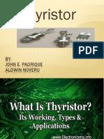 thyristor final report