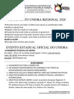 uniora planejamento regional