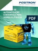 MÓDULOS DE automatização e interface para vidros eletricos