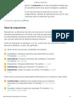 20 Ejemplos de Conjunciones