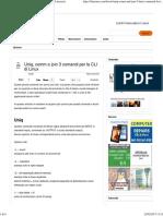 Uniq, comm e join 3 comandi per la CLI di Linux _ Linuxaria