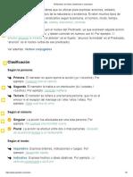50 Ejemplos de Verbos (clasificados y explicados)