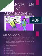VIOLENCIA EN PAREJAS ADOLESCENTES