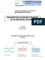 Description massifs rocheux