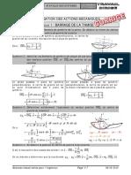 Corrigé TD 21 - Comportement Statique Des Systèmes
