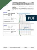 TD 03 corrigé - Performances et Modélisation des SLCI (équa. dif. + Laplace)
