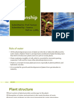 Plant – water relationship.pptx